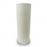 Vaso Decorativo Nakine Cerâmica Branco 32x13x13 cm