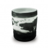 Vaso Decorativo Nakine Vidro Branco Fosco 20X17X17