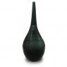 Vaso Decorativo Nakine Vidro Garrafa Negra 50X18X18