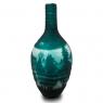 Vaso Decorativo Nakine Vidro Floresta Verde 48X20X20