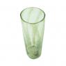 Vaso Decorativo Vidro Verde Transparente 30x11cm