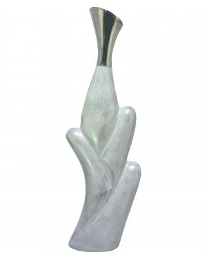 Vaso Garrafa Alumínio 89X28X12cm -  866