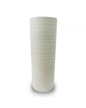 Vaso Decorativo Nakine Cerâmica Branco 32X13X13