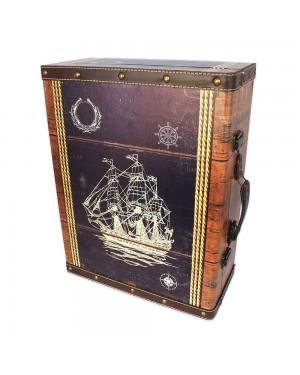Baú Suspenso Nakine Ocean 44x33,5x15,5cm